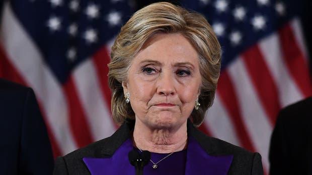 La ex candidata presidencial, Hillary Clinton