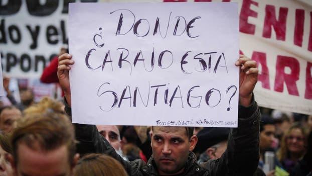 Multitudinaria convocatoria en Plaza de Mayo por la aparición de Santiago Maldonado. Foto: LA NACION / Hernán Zenteno