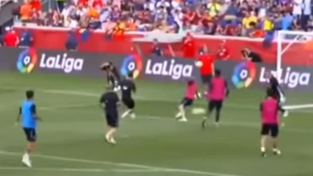 El talento de Messi ante Mascherano