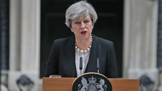 La premier británica Theresa May