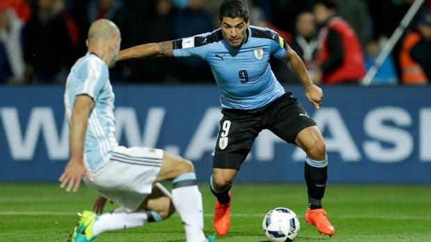 Messi y Suárez con Argentina-Uruguay 2030