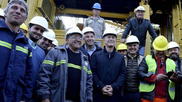 Mauricio Macri en Quilmes
