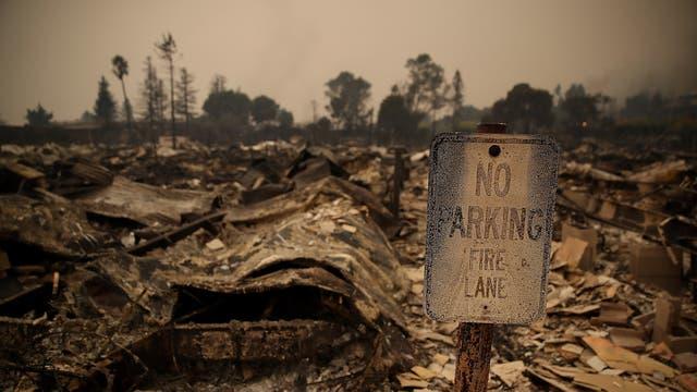 Algunos de los incendios más grandes se registraron en los condados de Napa y Sonoma, en donde los vi?edos atraen a turistas de todo el mundo