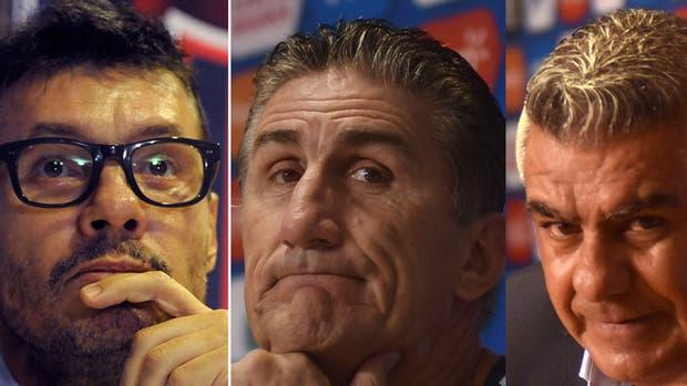 Tinelli, Bauza y Tapia