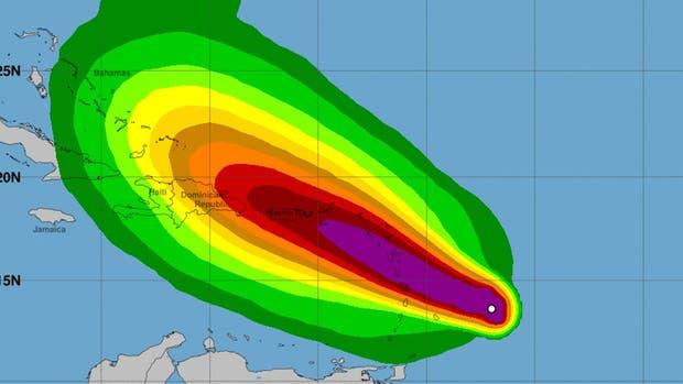 Las islas del Caribe se preparan para el huracán María luego del furioso paso del Irma