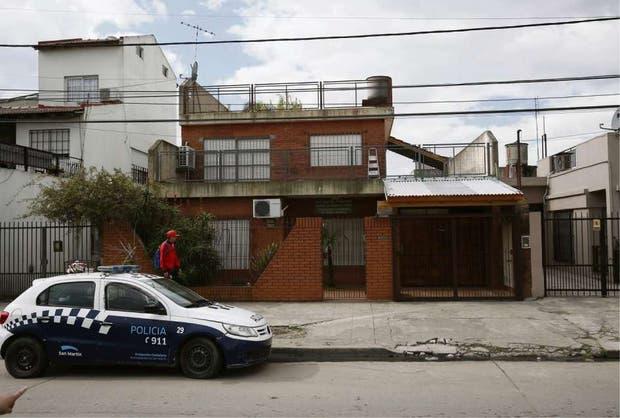 El frente de la casa del cirujano Villar Cataldo, en Loma Hermosa