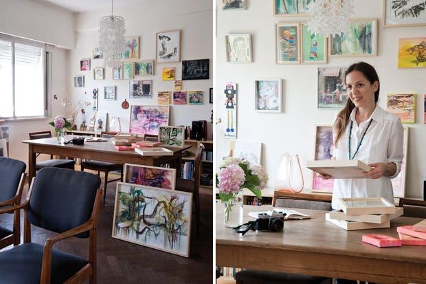 Un departamento lleno de color y creatividad   living   espacio living