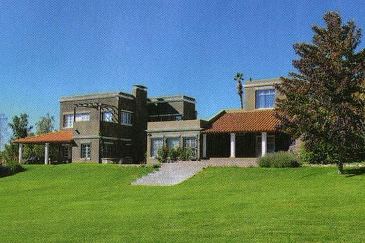La lujosa casa de Pamela David y Daniel Vila en la precordillera mendocina. Foto: Revista Caras