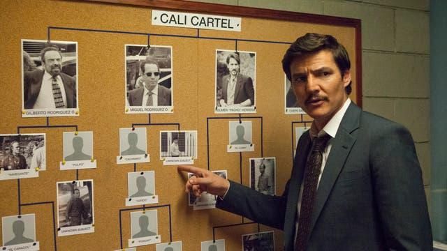 Una imagen de la serie Narcos, de Netflix