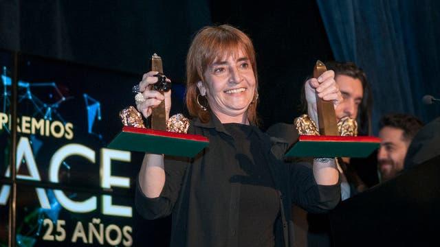La directora Corina Fiorillo se llevó el ACE de Oro