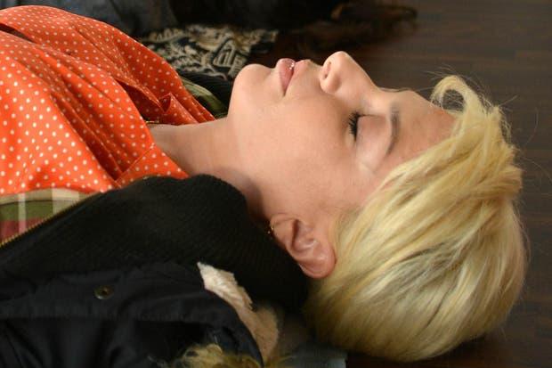 Tania (Romina Gaetani), en una escena de Tiempos Compulsivos