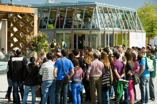El público en la Villa Solar.