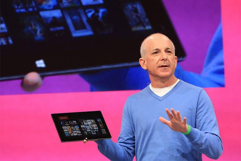 Steven Sinofsky, presidente de la división Windows de Microsoft