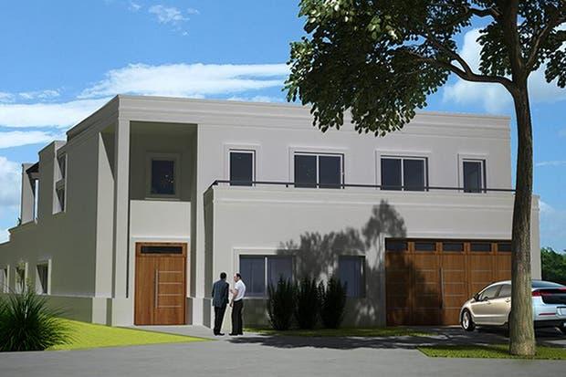 Una vista del proyecto de la casa G, que busca optimizar el uso de recursos sustentables con el medio ambiente