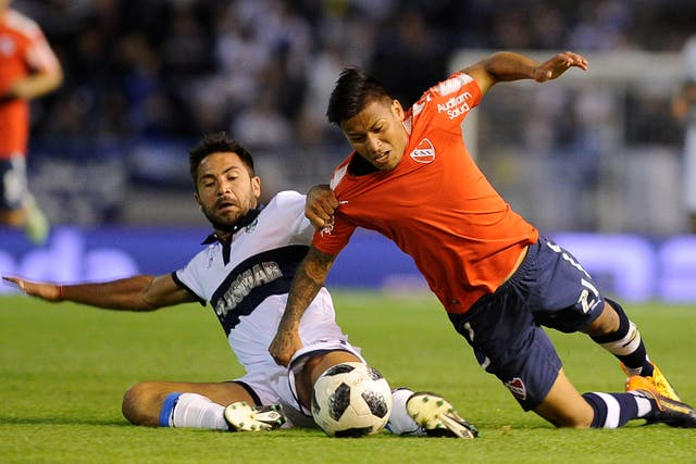 El duelo entre Gimnasia e Independiente