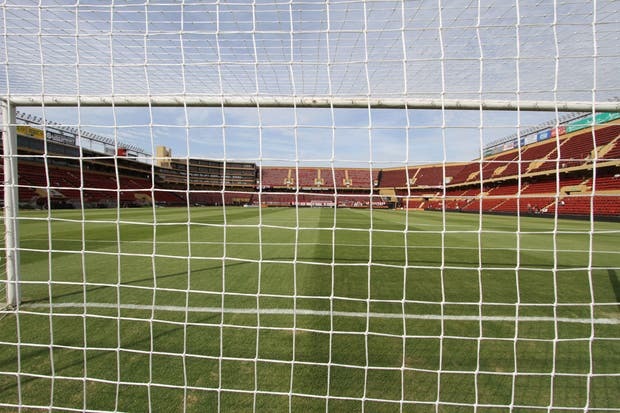 El estadio de Colón vacío