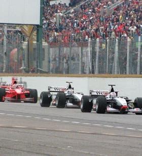 Una imagen del último GP de Fórmula 1 que se corrió en la Argentina. Fue en abril de 1998 y ganó Michael Schumacher.
