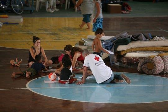 Muertos y miles de evacuados por la crecida del río Areco. Foto: LA NACION / Fernanda Corbani