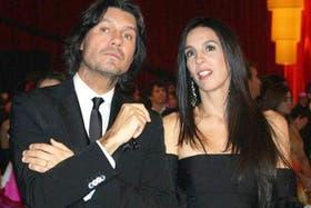 Tinelli y Paula Robles