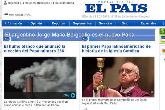El País de Uruguay. Foto: Captura de Pantalla