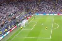 Cómo se vio el penal definitorio de Cristiano Ronaldo desde la tribuna