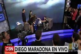 """Diego Maradona: """"Si no ganamos que no vuelvan"""""""