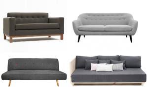 Sillones: 8 modelos en color gris