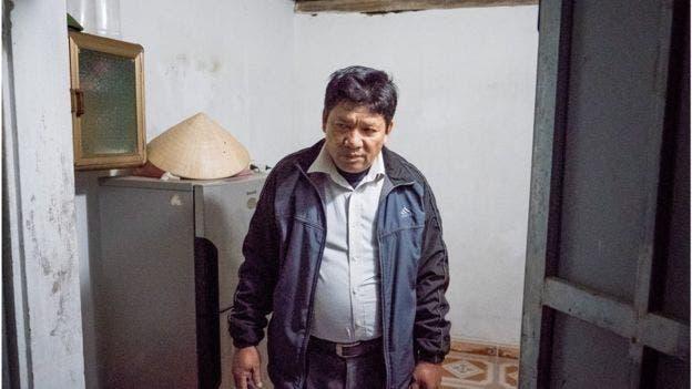 El padre de Huong dice que no era muy cercano a su hija.