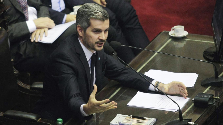 Marcos Peña en la Cámara de Diputados. Foto: DyN / Pablo Molina