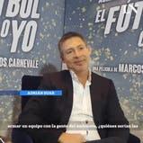 """Adrián Suar elige su """"selección"""" de estrellas para la TV"""