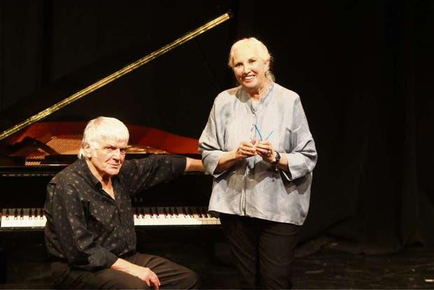 Osvaldo Piro y Susana Rinaldi, juntos por Troilo