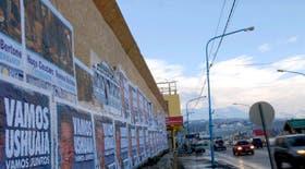 Las calles de Tierra del Fuego en plena veda