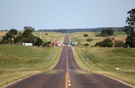 El corte en la ruta a Uruguay: sólo se puede pasar con un salvoconducto