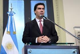Capitanich destacó que el FMI no haya formado parte de la negociación con el Club de París