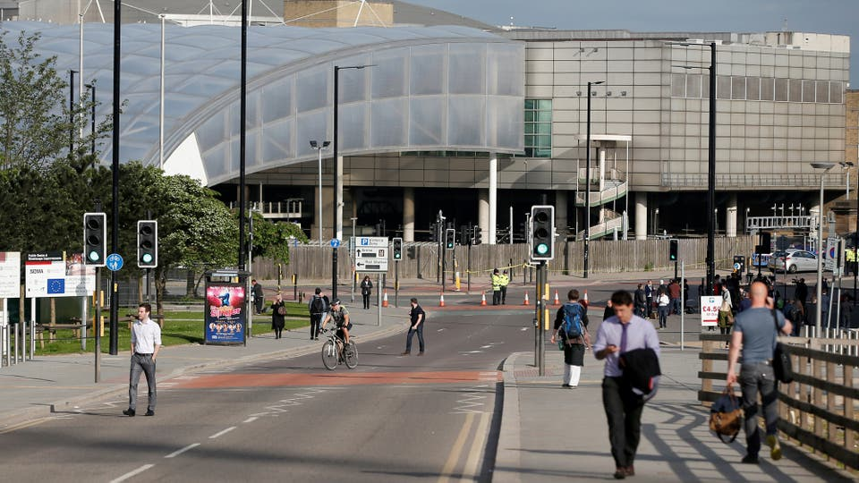 Las calles de Manchester vacías tras el atentado. Foto: Reuters / Andrew Yates