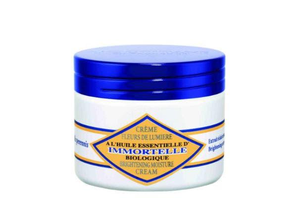Crema fresca con textura gel que regenera, suaviza y reafirma la piel. (L Occitane, $425). Foto: Gentileza Marce García Prensa