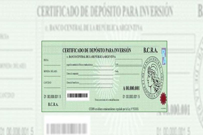 El Certificado de Depósito para Inversión que emitirá el Banco Central (Cedin)