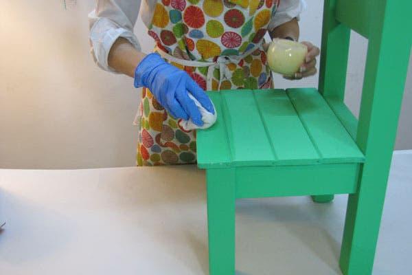 Silla matera paso a paso para un resultado profesional - Como pintar una pared ya pintada ...