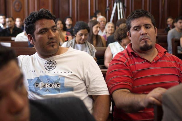 Los hermanos José Fernando Gómez y Gonzalo Gómez, estaban acusados como partícipes necesarios de la retención de Marita Verón y de su sometimiento a la prostitución