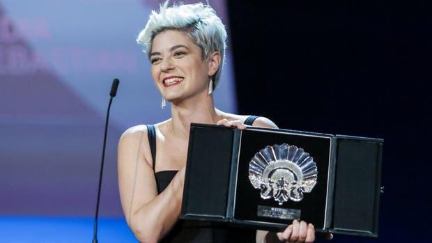 Sofía Gala también fue premiada en San Sebastián