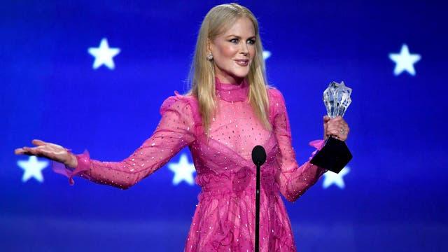 Otra gran noche para Nicole Kidman