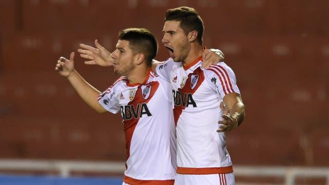 Alario marcó el 1-0 con Melgar