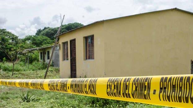 La casa en la que habrían sido asesinadas las jóvenes mendocinas. Foto: Omar Sotomayor