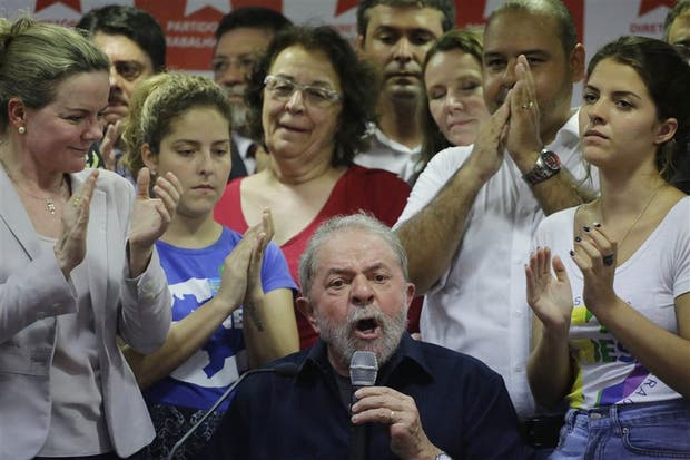 El discurso del ex mandatario Lula da Silva