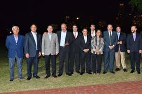 Reunión de Gobernadores del PJ en capital