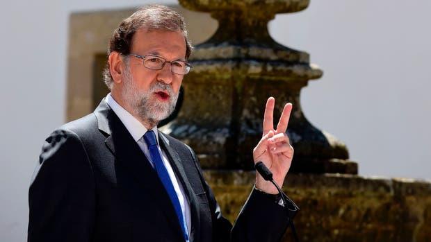 El presidente español Mariano Rajoy