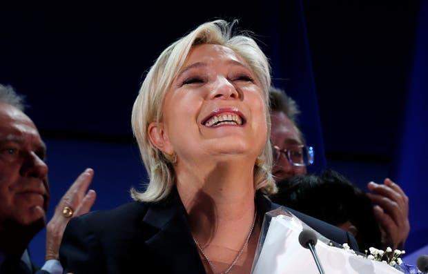 Marine Le Pen, la candidata de la extrema derecha