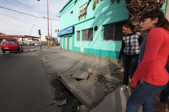 En el lugar, cuenta la familia, no se encontró la supuesta arma que habría usado Omar. Foto: LA NACION / Guadalupe Aizaga