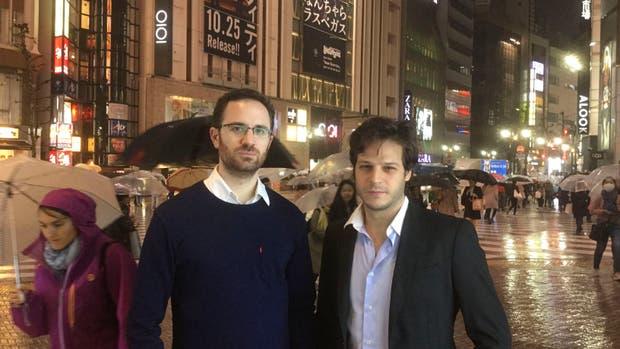 Los investigadores argentinos, en Tokio