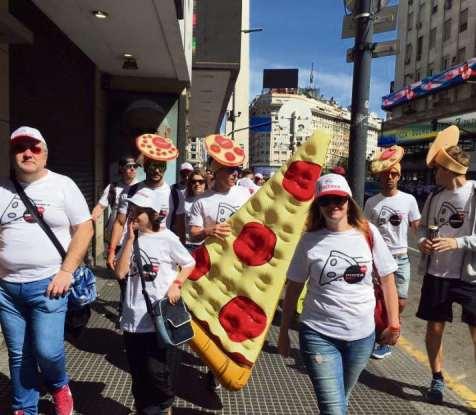 Se realizó la sexta edición de Muza5K y tres pizzerías resultaron premiadas